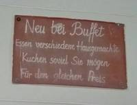 All you can eat oder Das Kuchen-Buffet